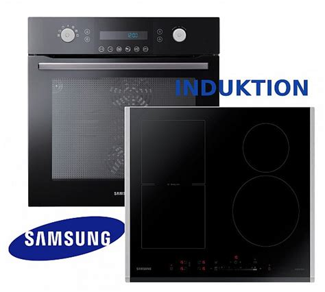 Herdset Induktion Samsung Herd Autark Backofen Induktion