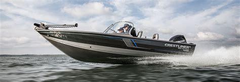 crestliner deep v boats deep v aluminum boat 1950 fish hawk