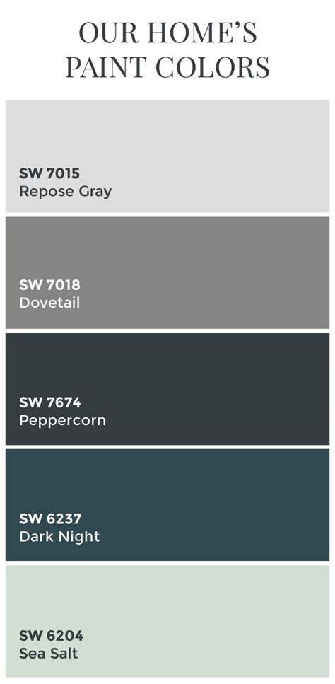 color schemes with grey paint colors sherwin williams dovetail sherwin