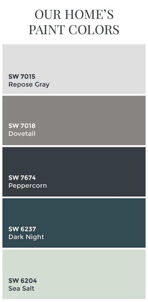 sherwin williams color schemes paint colors sherwin williams dovetail sherwin