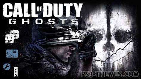 ps3 themes cod black ops ps3 themes 187 call of duty ghosts dynamic theme