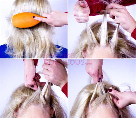 how to do an upside down french braid bun upside down french braid updo tutorial