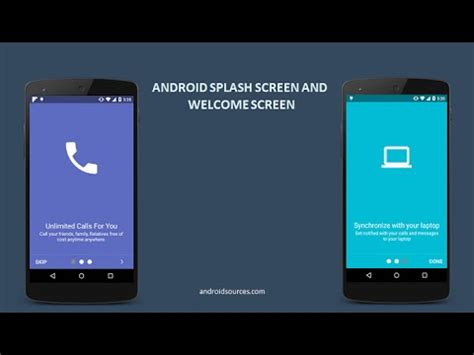 android studio tutorial splash screen android splash screen and welcome screen tutorial using