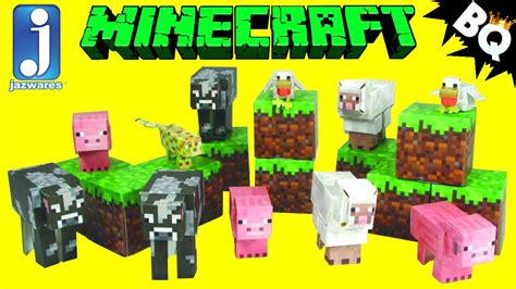 Minecraft Papercraft Animal Mobs - paper crafts minecraft animals and mobs