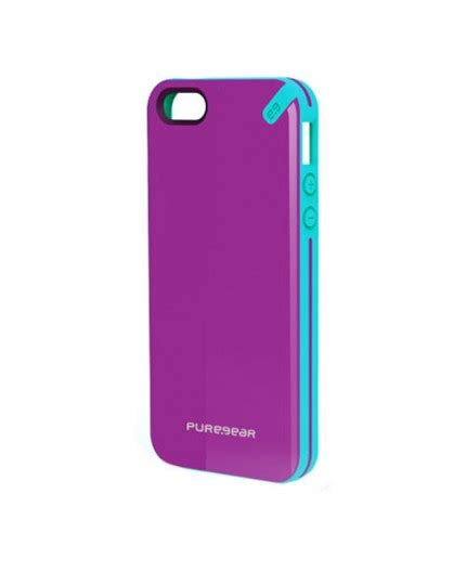 Puregear Iphone5 Gear Cover Casing Iphone 5s Se gear slim shell apple iphone 5 5s se fruit
