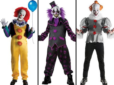 It Pennywise Clown Mask Costume pennywise clown costumes poised to be top
