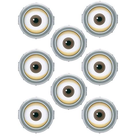 printable eye stickers 9 best images of for minion eyes printable balloons