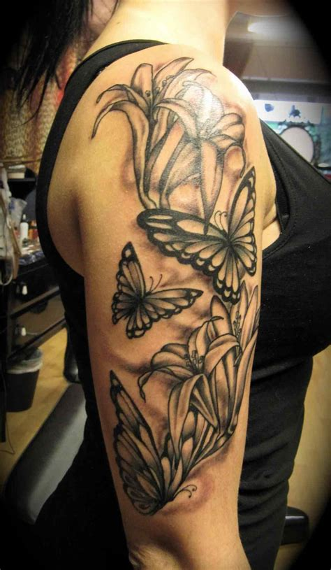 butterfly sleeve tattoo half sleeve tattoos sparkassess