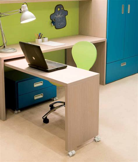 cool desk ideas cool and ergonomic bedroom ideas for two children by