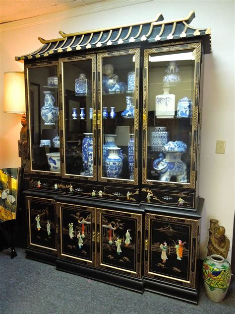 glass front cabinets archives design chic design chic very chic 20th century chinoiserie pagoda glass front