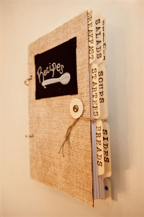 Handmade Recipe Book - handmade recipe book by lettinglove on etsy living room