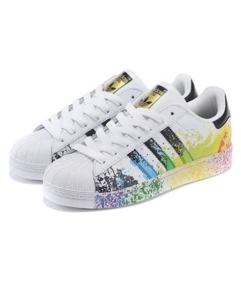 adidas superstar splash sneakers multi color casual shoes