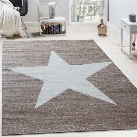 teppich kurzflor beige designer teppich muster modern trendig kurzflor