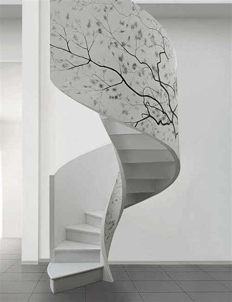 Circular Stairs Design Artistic Indoor Spiral Staircase Designs Iroonie