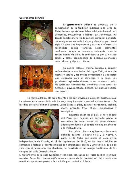 recetas de cocina chilena cocina chilena