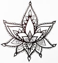 Lotus Flower Henna Lotus Flower Temporary Henna Style