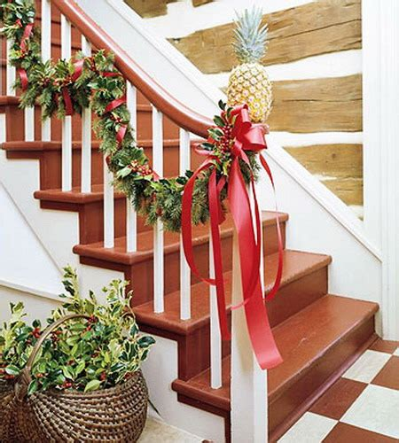 christmas lights for stair banisters give your staircase a festive makeover just in time for