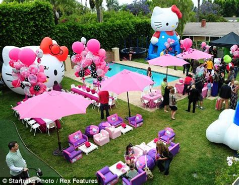 backyard princess party a party fit for a princess tori spelling turns her back