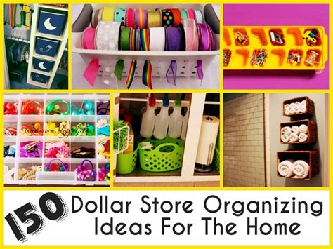 dollar store organizing ideas 150 dollar store organizing ideas for the home