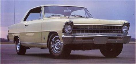 1967 chevrolet chevy ii nova ss: a profile of a muscle car
