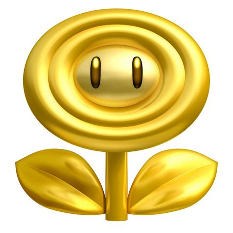 Bros Gold Flower B43547 free coloring pages of mario icmario flower