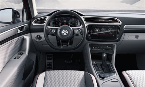 volkswagen tiguan interior 2016 volkswagen tiguan gte active concepts