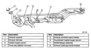 2001 Ford Ranger Exhaust System Diagram 1990 Ford Ranger Exhaust Diagram 1990 Get Free Image