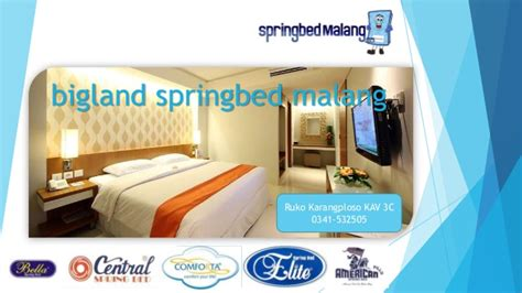 Bed Bigland Malang bigland springbed malang