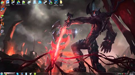 animated wallpaper windows 10 league of legends aatrox animated wallpaper youtube