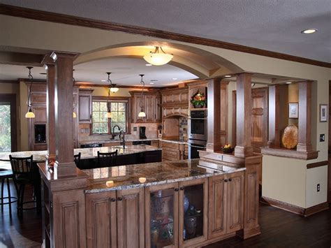 kitchen island columns 2018 arch with attached kitchen island open shelves kitchen kitchen islands with columns and