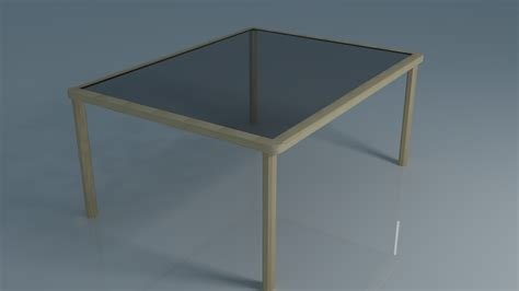 glass for table cgtrader
