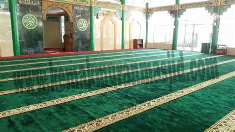 Karpet Gulung sajadah masjid gulung al husna pusat kebutuhan masjid