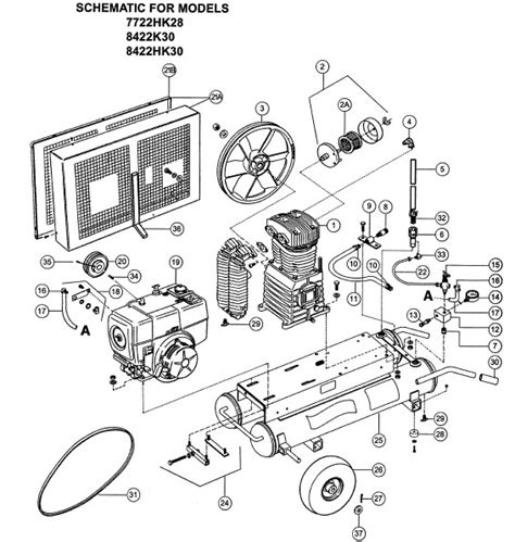 wiring diagram for emglo air compressor manual