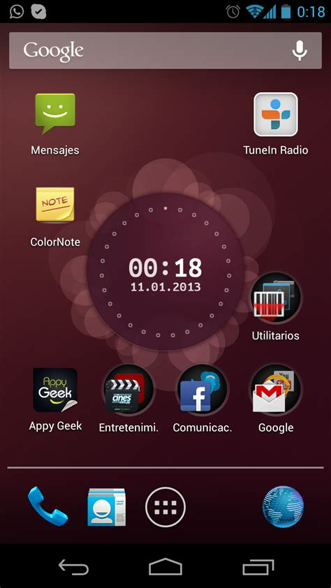 wallpaper ubuntu android usar ubuntu live wallpaper en android y el todo en