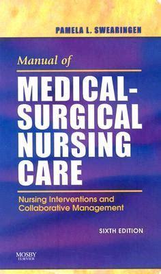 Manual Of Critical Care Nursing Nursing Interventions And Collaborati critical care nursing shelf