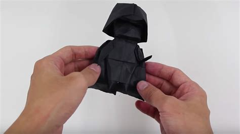 How To Make Origami Darth Vader - terrifying darth vader armor geektyrant