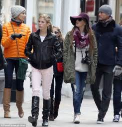 faith hill and tim mcgraw tour uk city with their three daughters ahead of o2 show daily mail