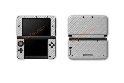 3m Skin Protector Nintendo New 3dsxl Fullset Carbon Print 1 nintendo 3ds xl carbon fiber series stickerboy skins for protecting your mobile device