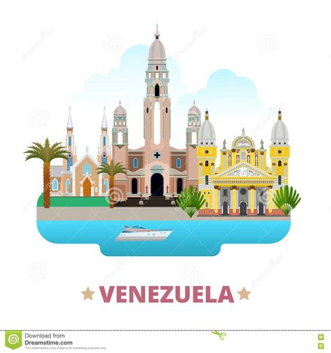 venezuelan id template country design template flat sty stock
