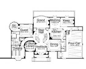 castle home floor plans dysart castle 6140 5 bedrooms and 4 baths the house