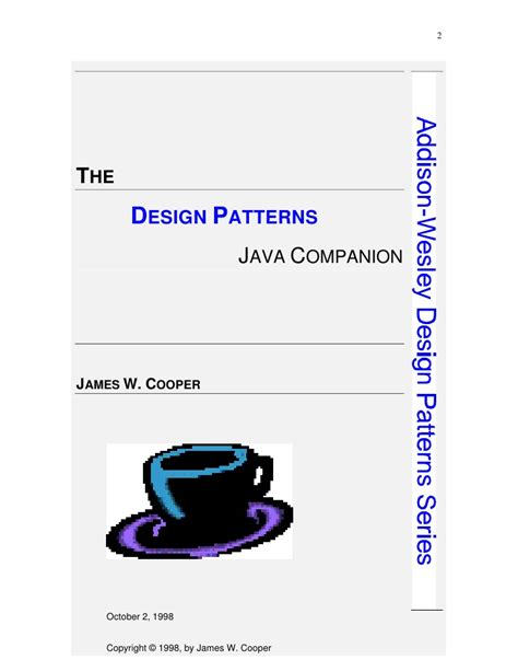 design pattern in java book java design patterns