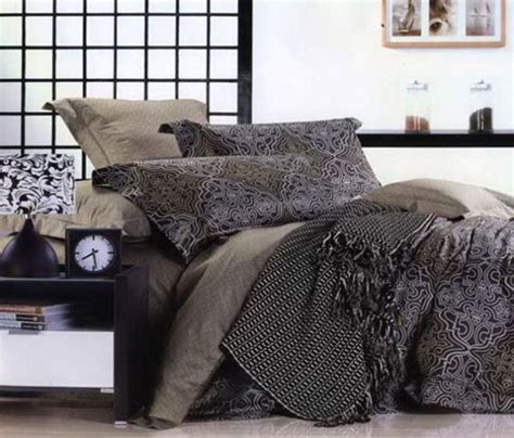 brown gray and black bedding sets neutral bedroom colors