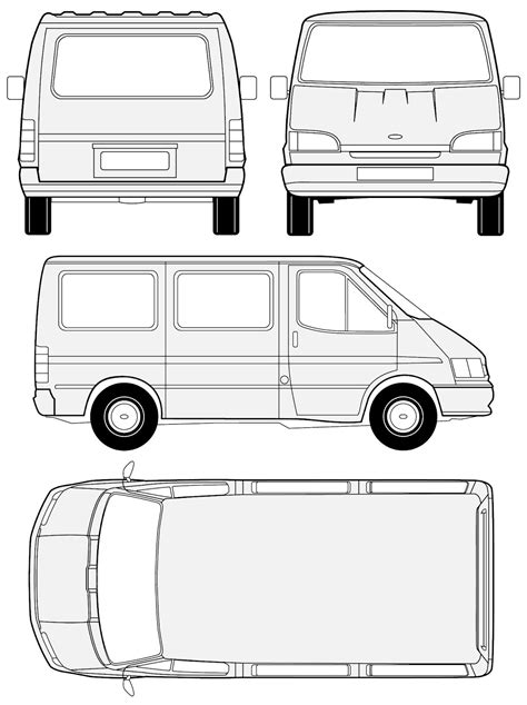 3d Auto Club: Blueprints - Ford