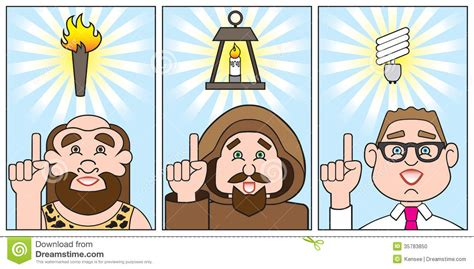 Idea Evolution evolution of a bright idea stock photo image 35783850
