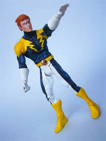 Lightning Lad Argenta 2008 Customs Lightning Lad Legion Of Superheroes Dc Classics