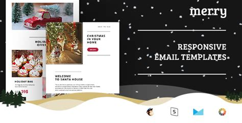 merry email template merry email templates set stready builder
