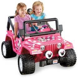 Power Wheels Jeep Walmart Fisher Price Power Wheels Disney Minnie Mouse Jeep 12 Volt