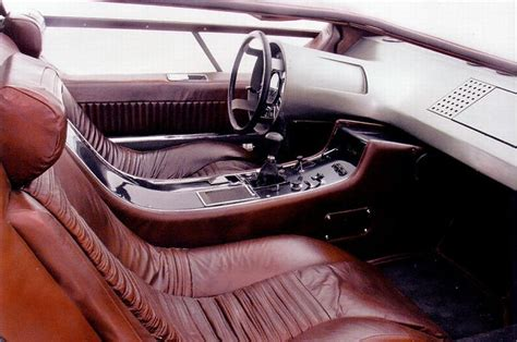 maserati boomerang interior of the day boomerang iedei
