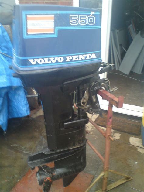 volvo penta hp outboard engine  manchester gumtree