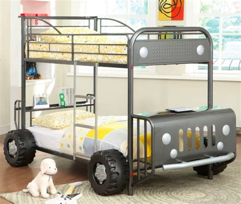 jeep bunk bed 40 beautiful kids beds that offer storage with sweet dreams